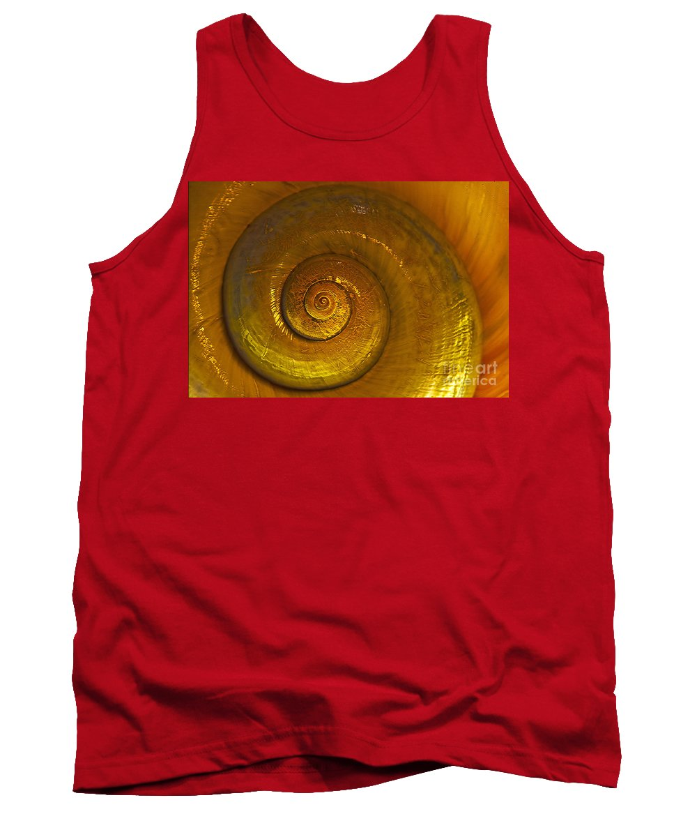 Circles Tank Top featuring the photograph Cirles by Bruce Bain