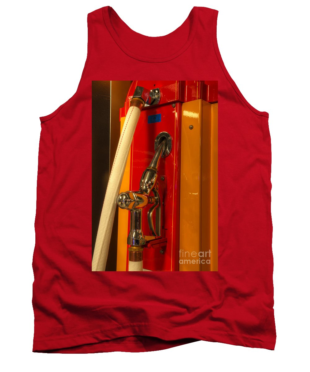 Classic Gas Pumps Tank Top featuring the photograph Classic Gas Pump by Bob Christopher
