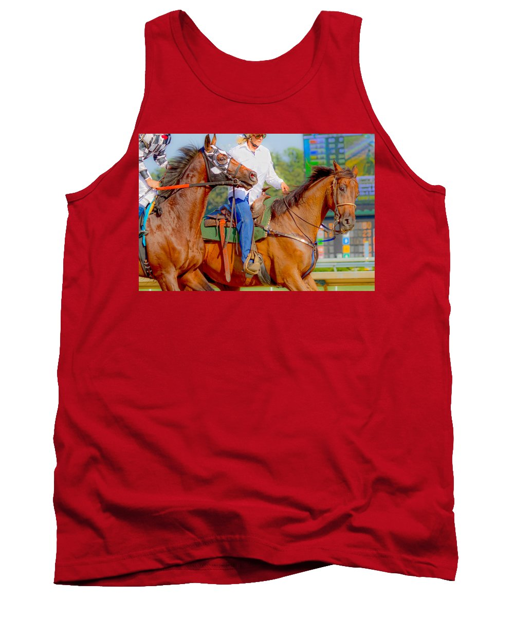 Post Tank Top featuring the photograph Escort by Betsy Knapp