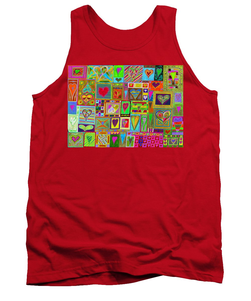 Find U'r Love Found Tank Top featuring the photograph find U'r Love found  v15 by Kenneth James