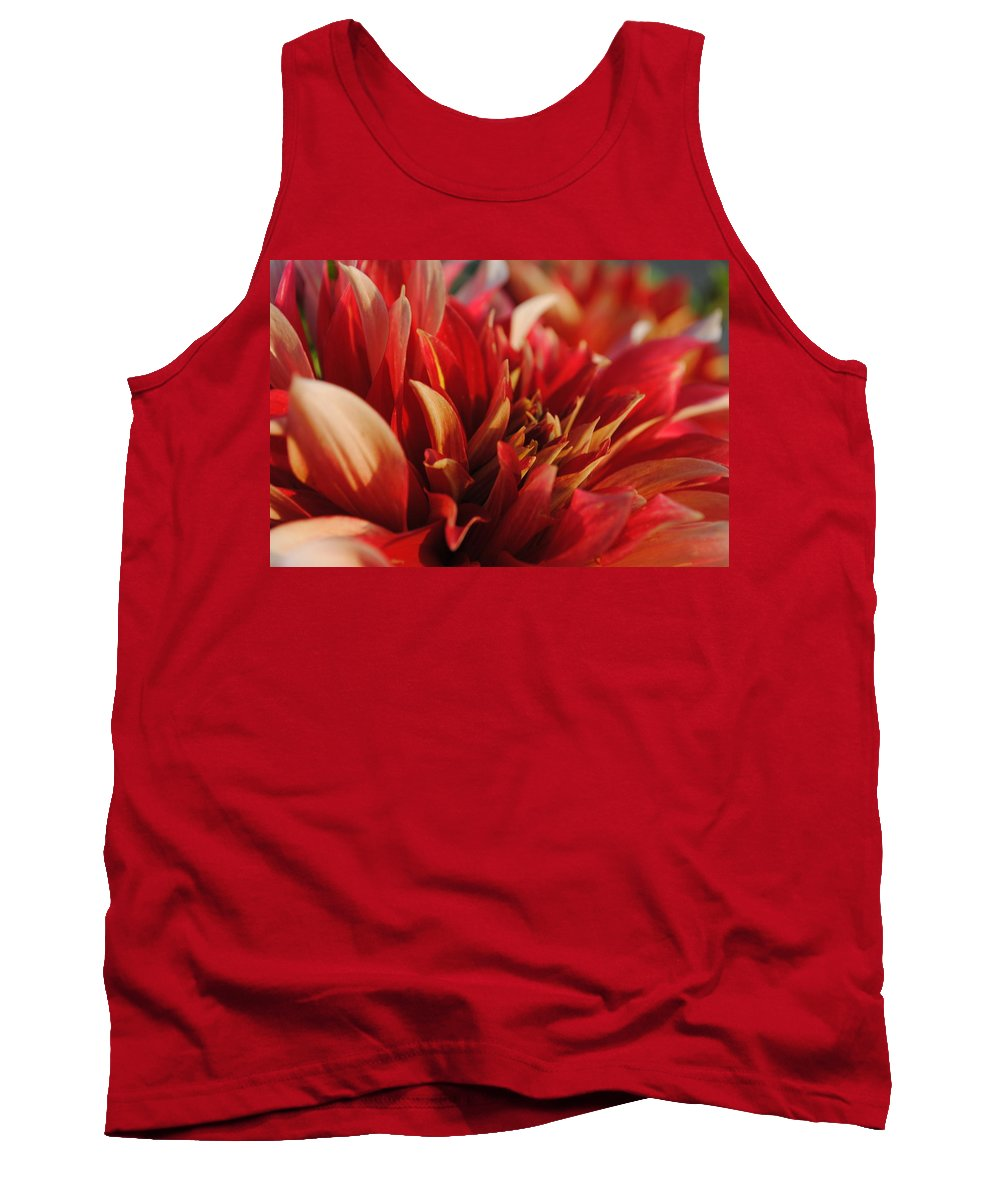 Tank Top featuring the photograph Fire by Michael Frank Jr