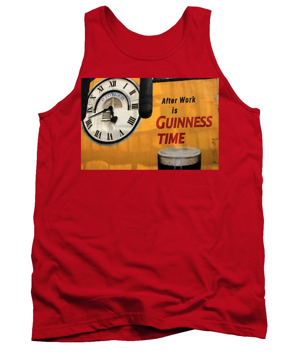 Guinness Tank Top featuring the photograph Guinness Beer 1 by Andrew Fare