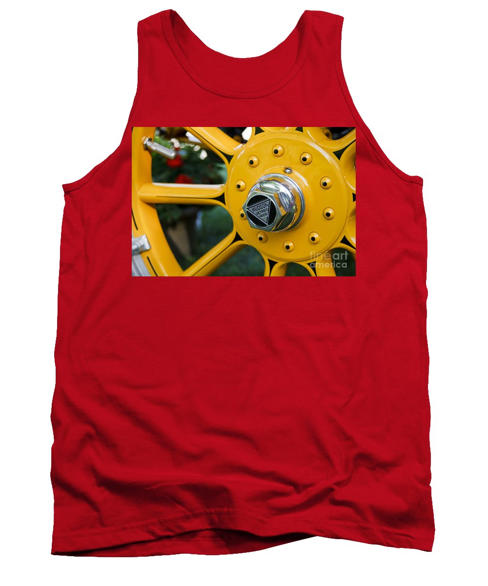 Classic Tank Top featuring the photograph Hudson Wheel by Dennis Hedberg