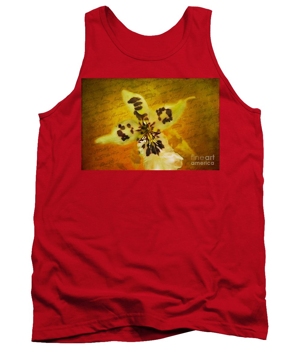 Nostalgia Tank Top featuring the photograph Memories Of An Orchid by Judi Bagwell