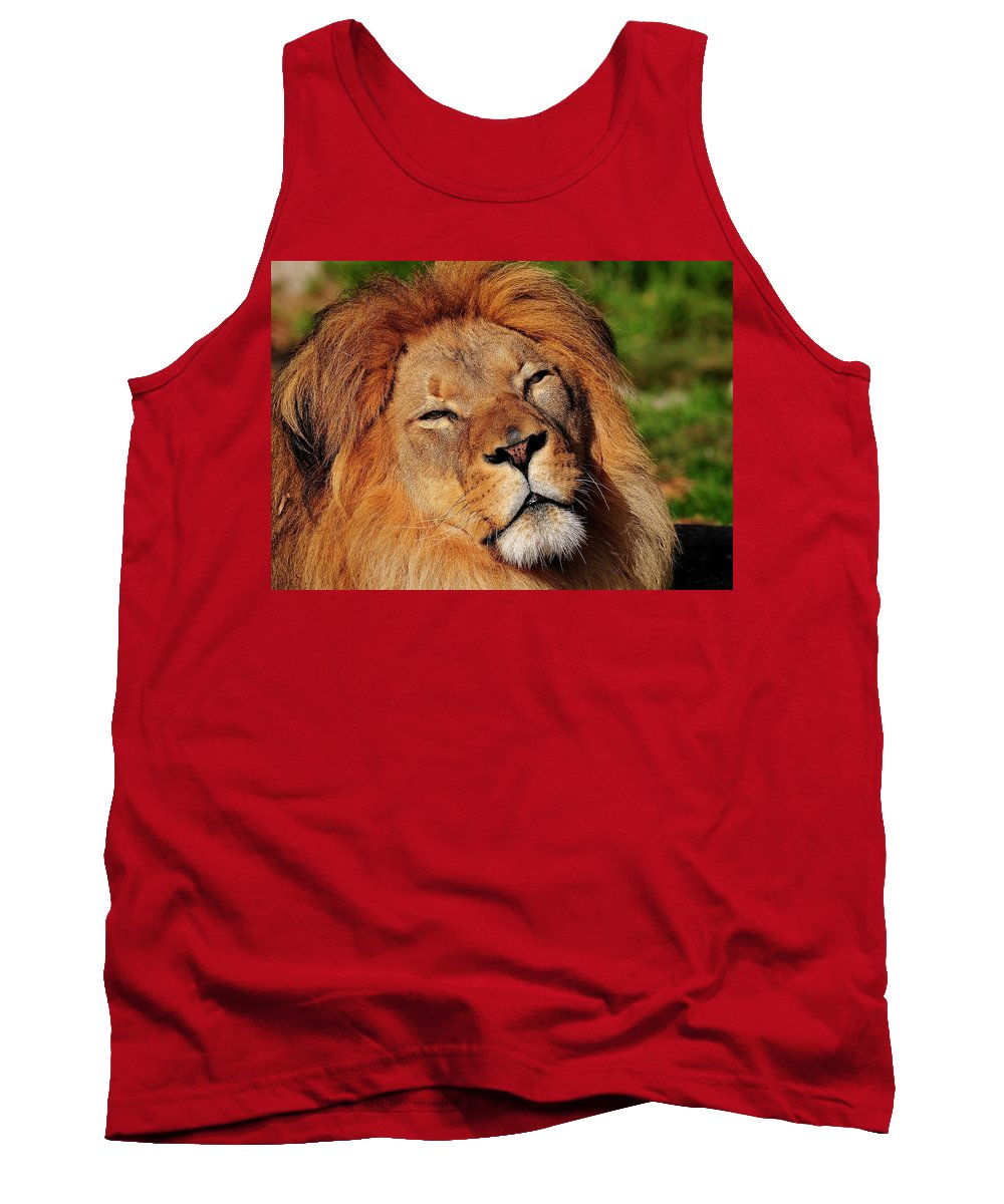African Tank Top featuring the photograph My Funny Face by Bill Dodsworth