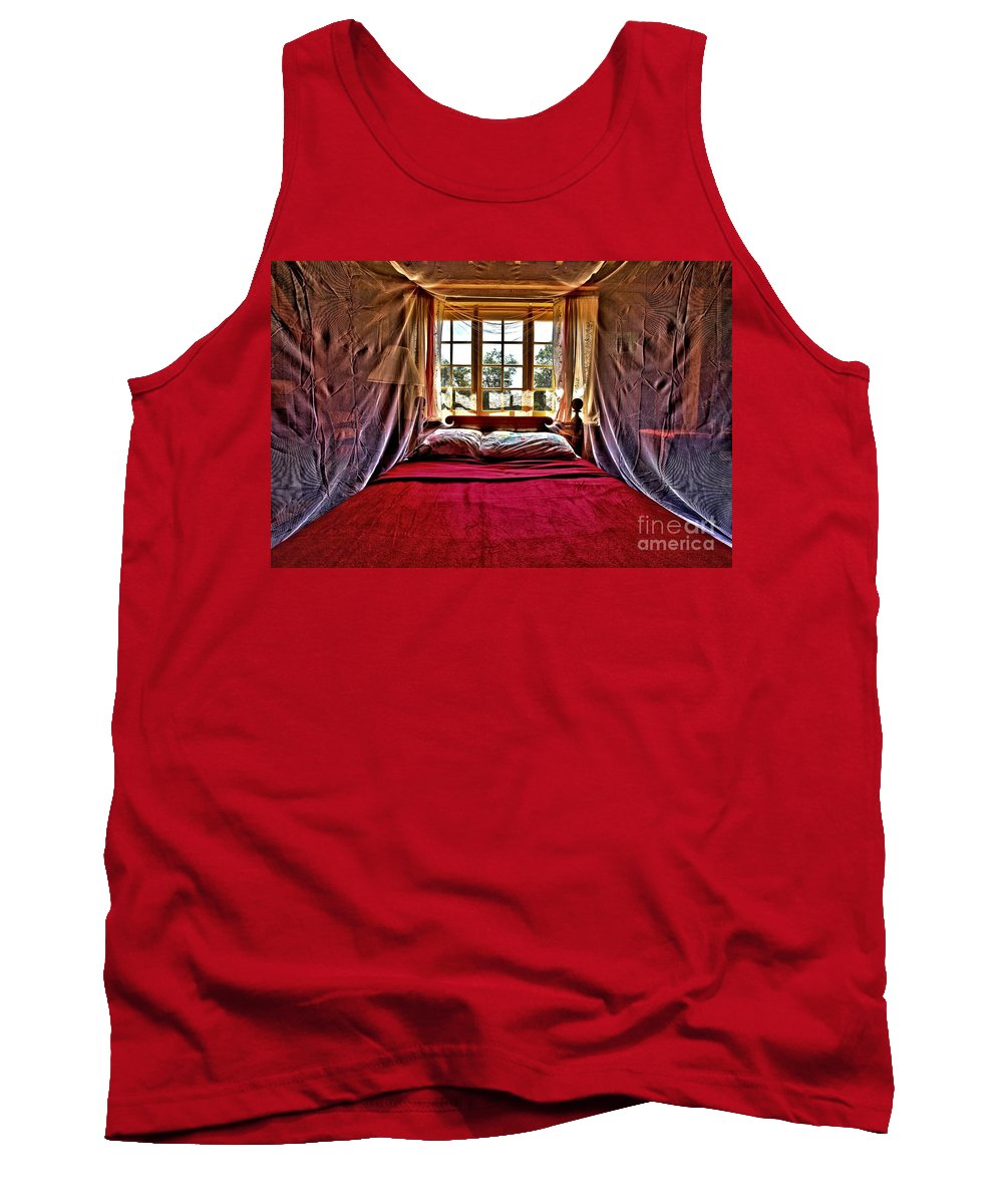 Bed Tank Top featuring the photograph Passion by Adam Jewell