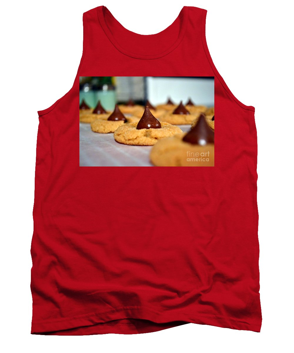 Photo Tank Top featuring the photograph Peanut Blossoms by Bonnie Myszka