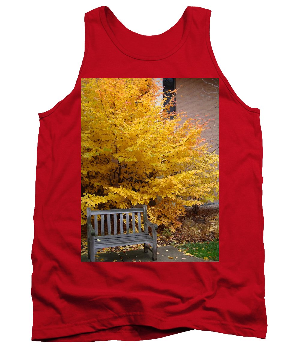 Fall Tank Top featuring the photograph Plant Biology by Joseph Yarbrough
