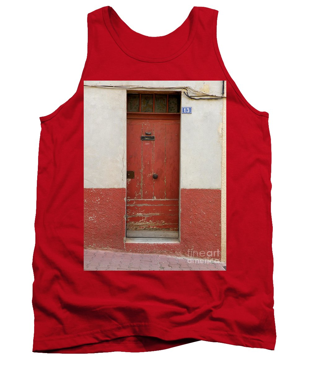 Door Tank Top featuring the photograph Provence Door 13 by Lainie Wrightson
