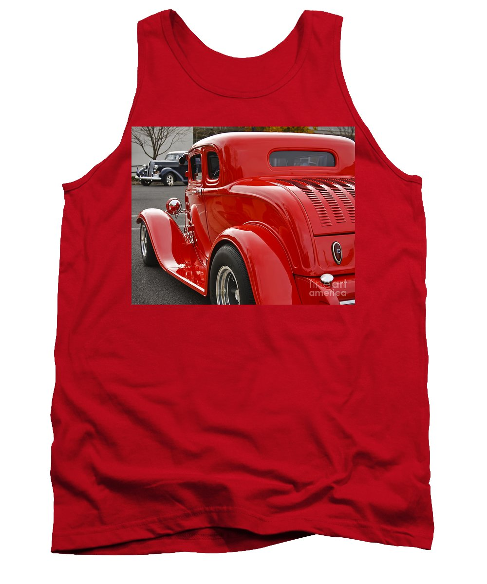 Classic Tank Top featuring the photograph Red Coupe by Dennis Hedberg