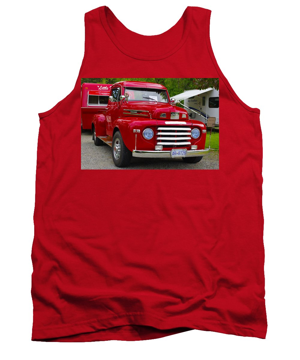 Red Tank Top featuring the photograph Red Mercury by John Greaves