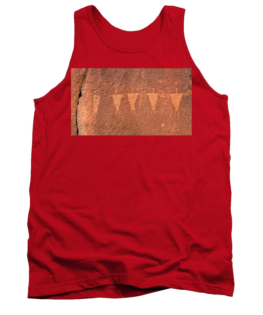 Fine Art Photography Tank Top featuring the photograph Rock Star Circa 1200 Ad by David Lee Thompson