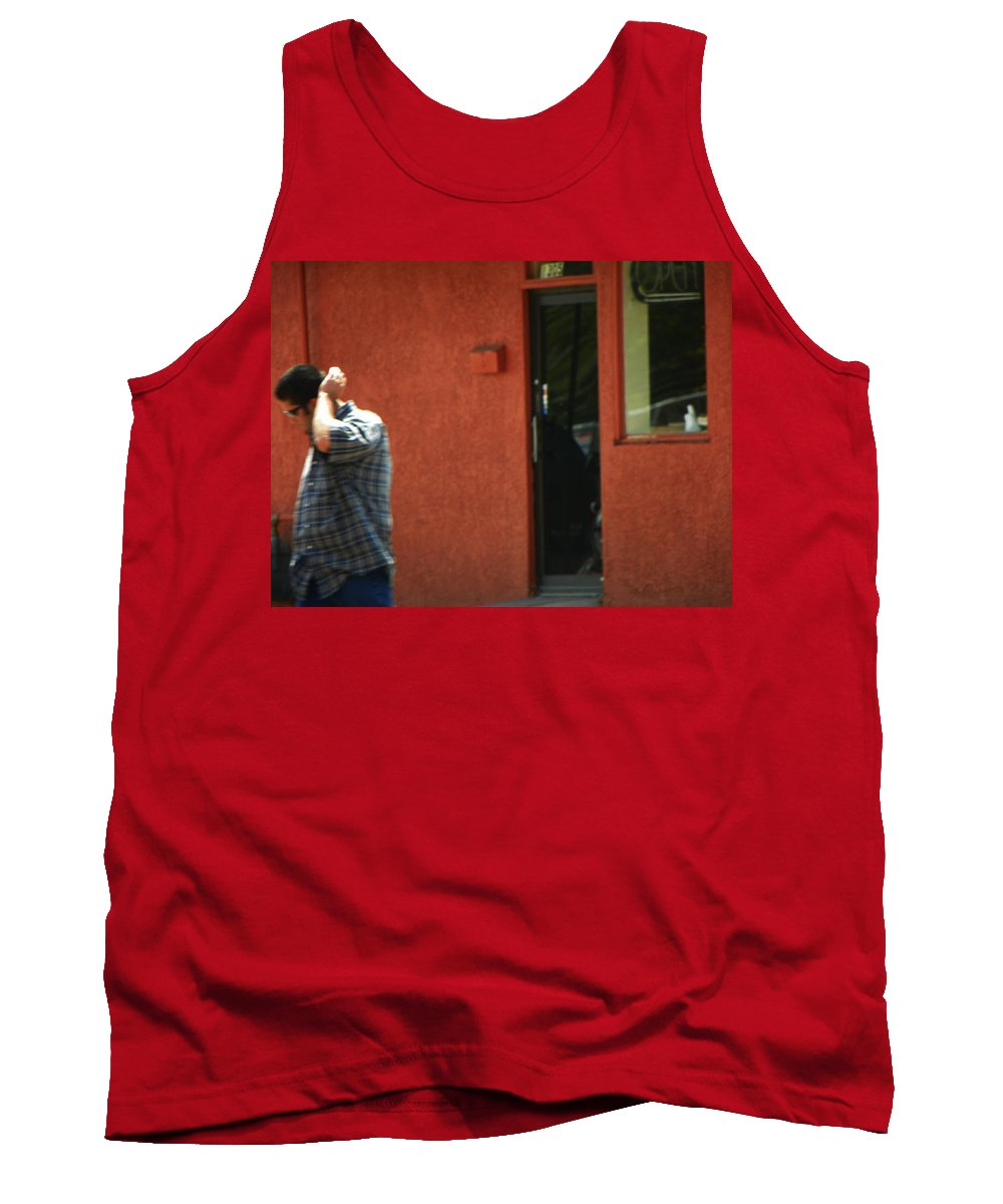 Expressive Tank Top featuring the photograph Shy Guy by Lenore Senior