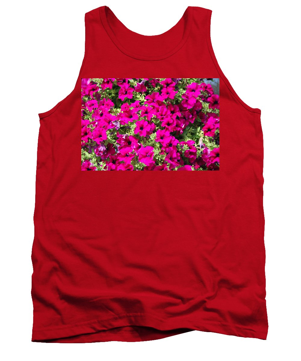 Pink Tank Top featuring the photograph Springtime Flowers by Michael Merry