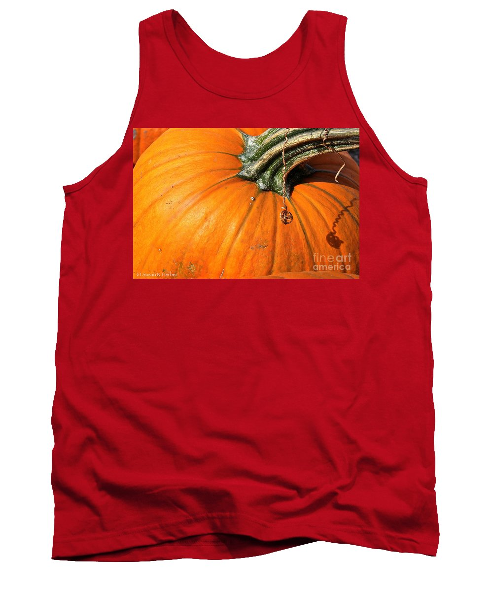 Outdoors Tank Top featuring the photograph Squiggle by Susan Herber