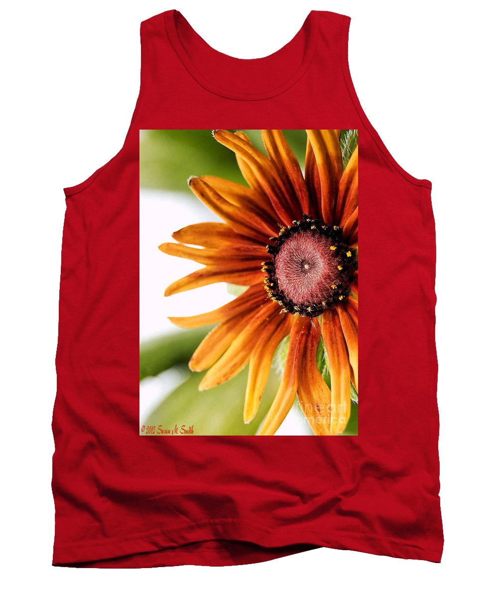 Flower Tank Top featuring the photograph Tequila Sunrise by Susan Smith