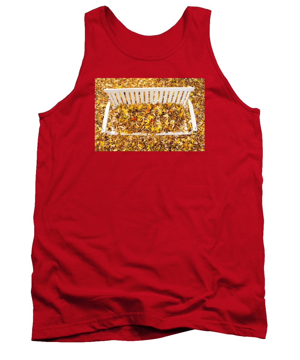 Swing Tank Top featuring the photograph The Swing by James BO Insogna