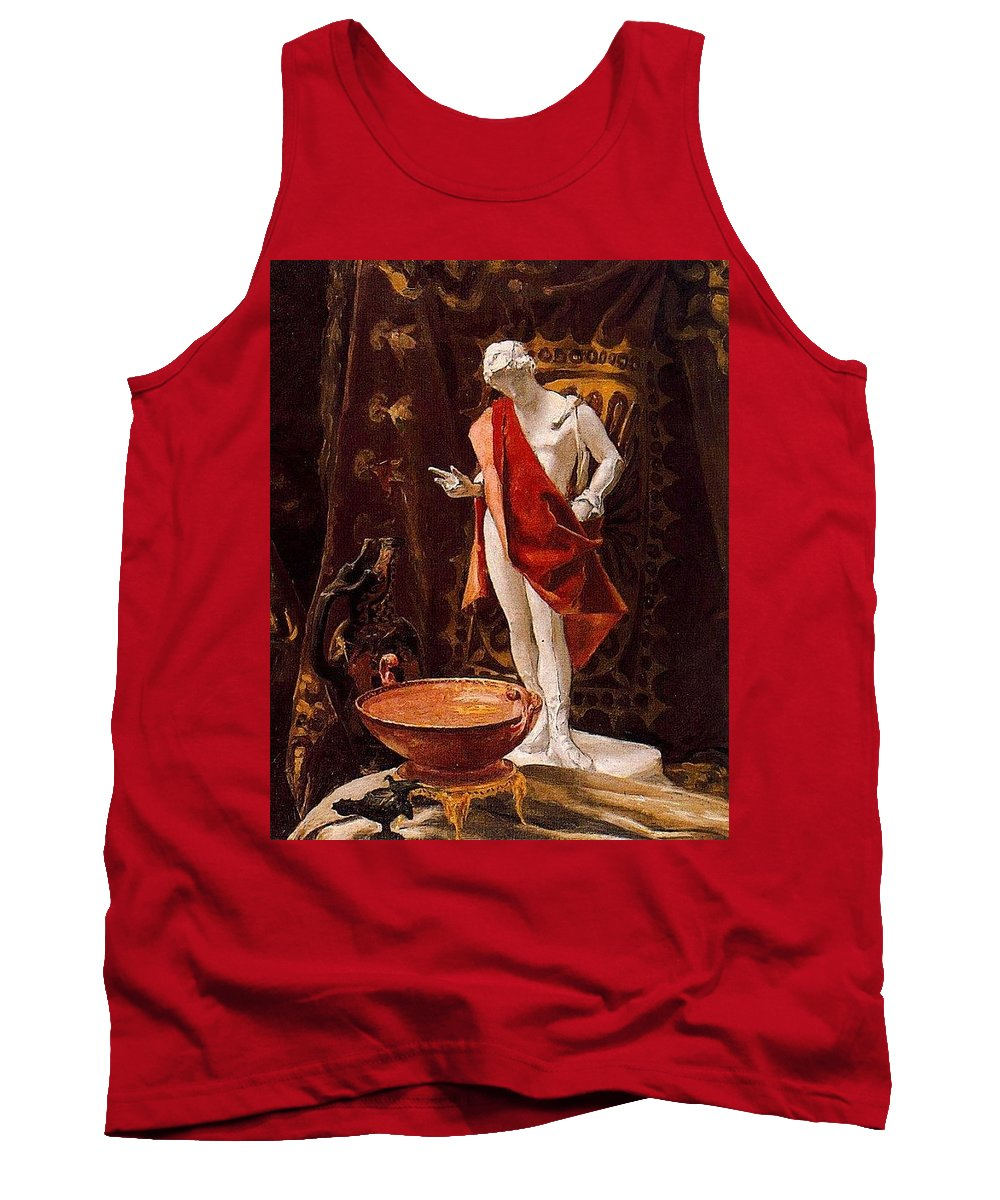 Religion Tank Top featuring the digital art 16488 Nicanor Pinole by Eloisa Mannion