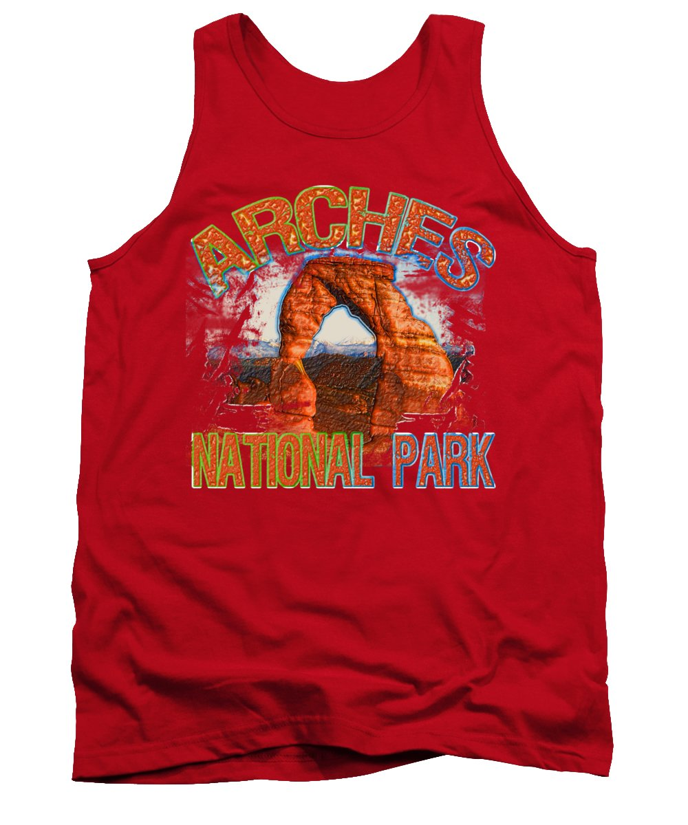 Arches National Park Tank Tops
