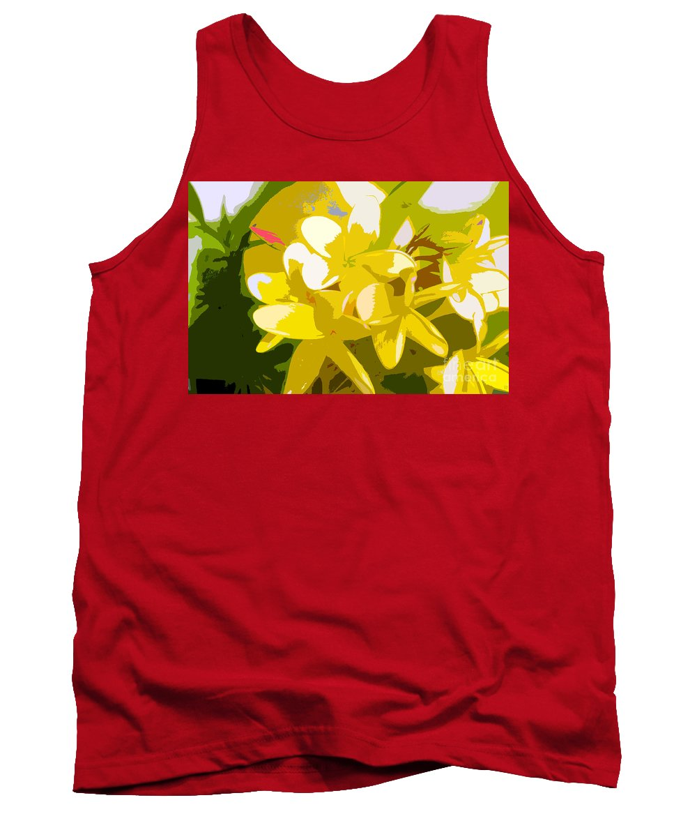 Summer Tank Top featuring the painting Colors Of Summer by David Lee Thompson