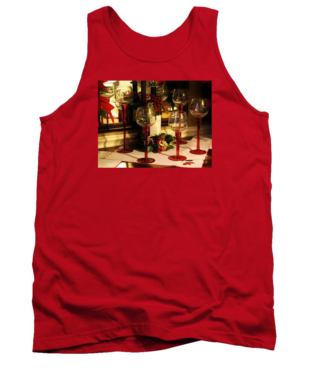Holidays Tank Top featuring the photograph Happy Holidays by Paulette Thomas