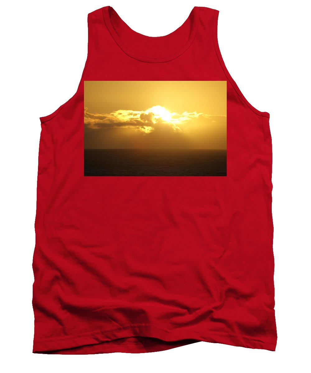 Tank Top featuring the photograph Hawaii Sunrise by Michael Lancaster