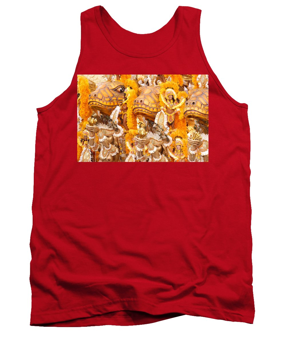 Brazil Tank Top featuring the photograph Lets Samba by Sebastian Musial