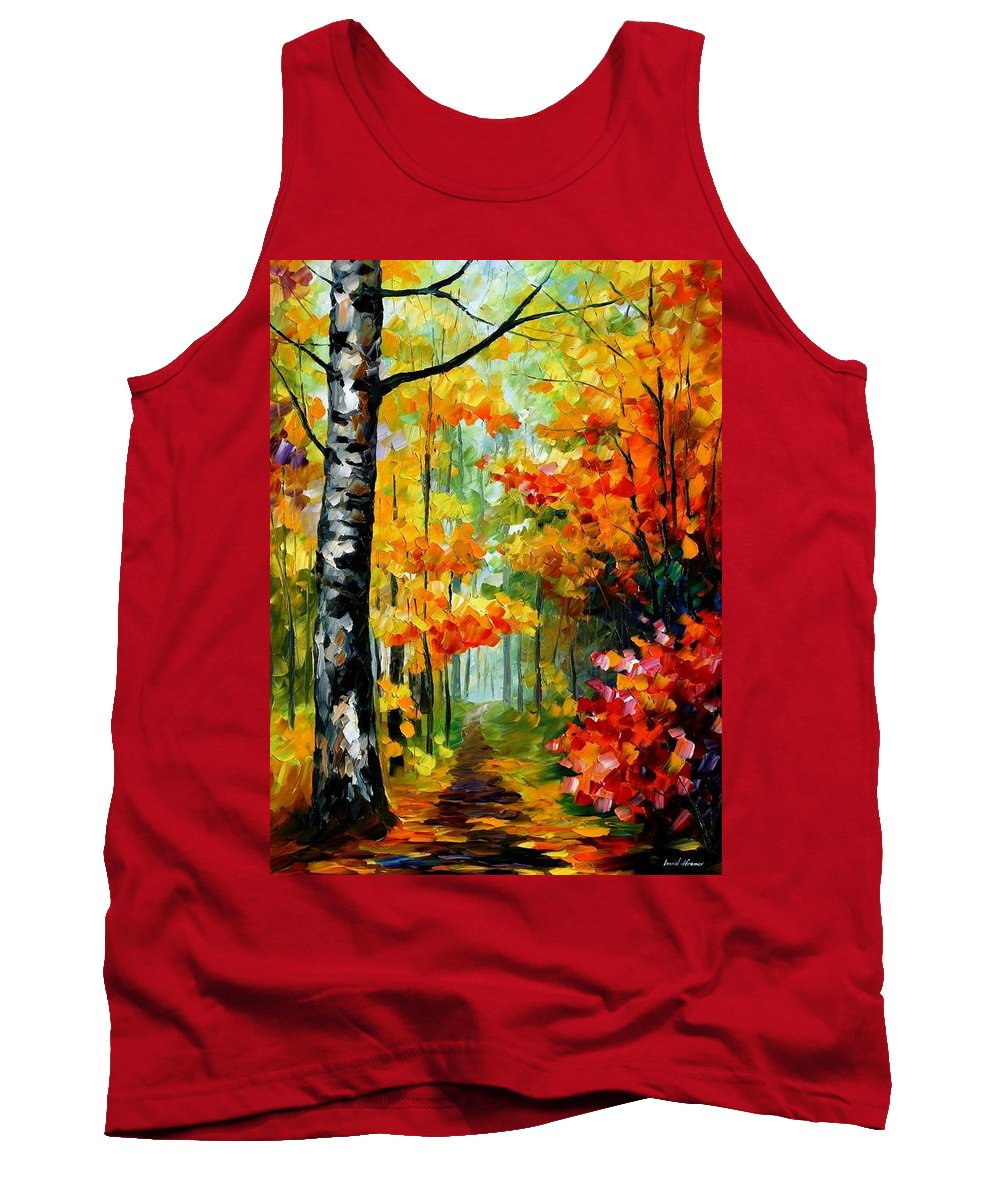 Afremov Tank Top featuring the painting Soul Time by Leonid Afremov