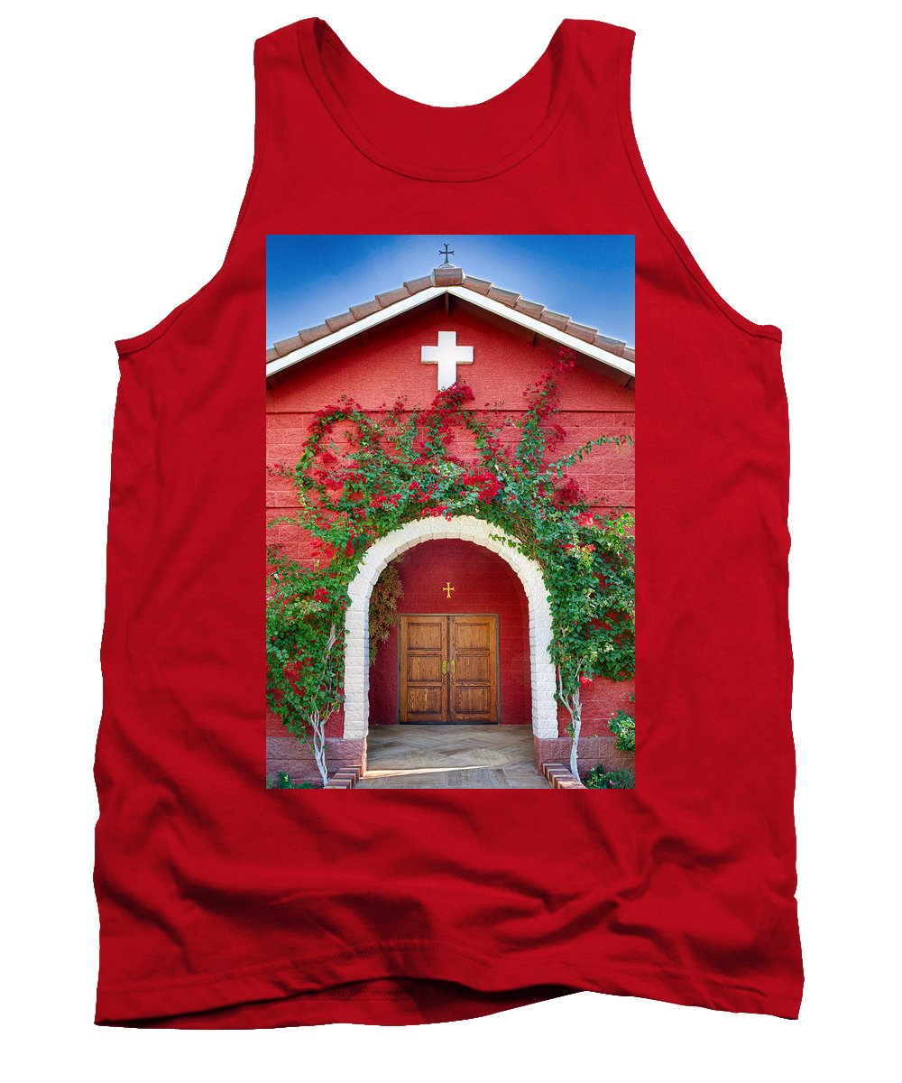 Florence Tank Top featuring the photograph St. Anthony's Church by Matt Suess
