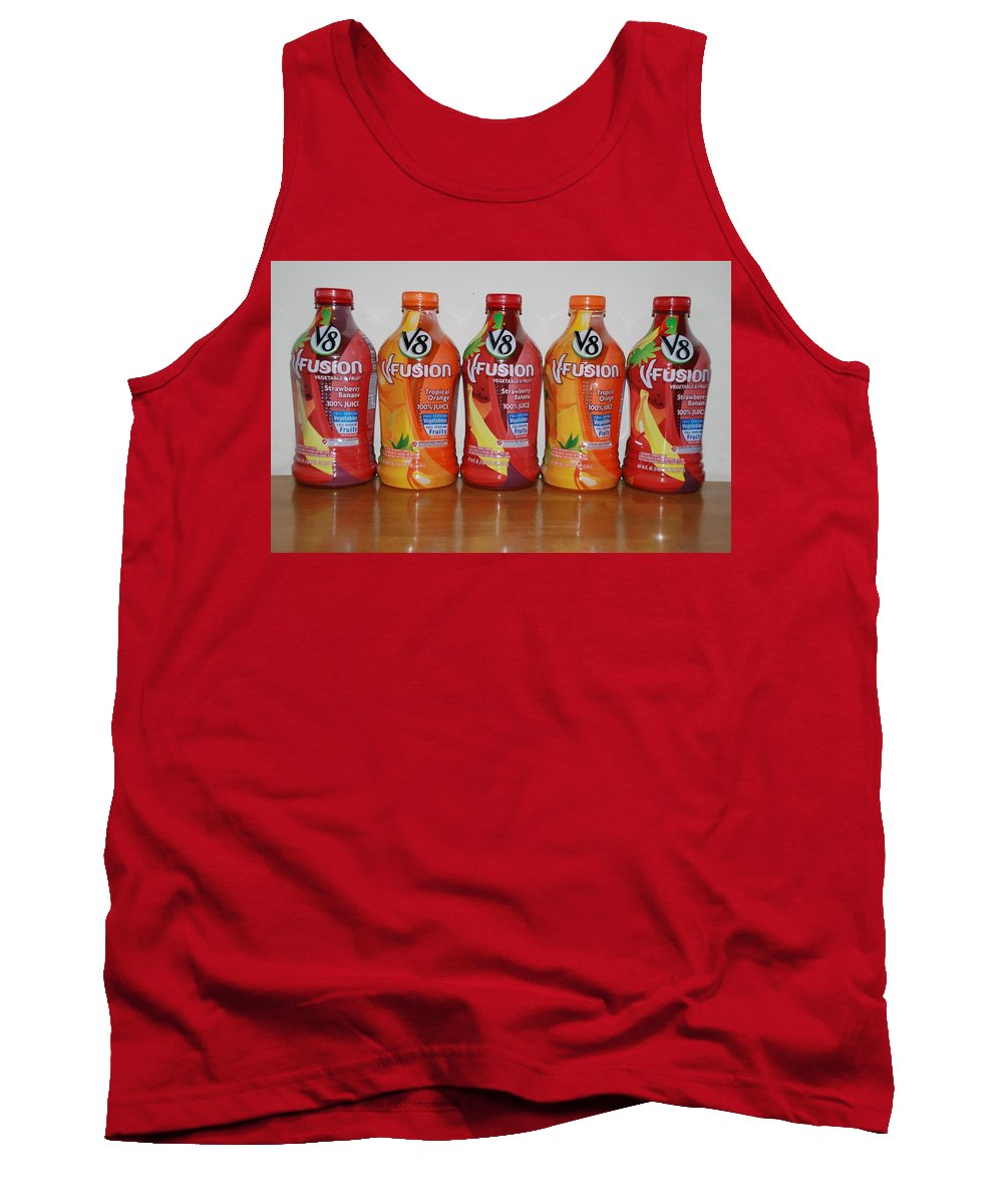 V8 Tank Top featuring the photograph V8 Fusion by Rob Hans