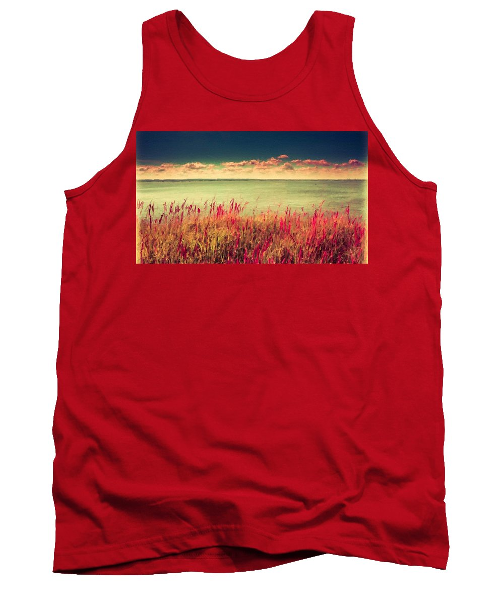 Landscape Tank Top featuring the digital art Great Landscape by Usa Map
