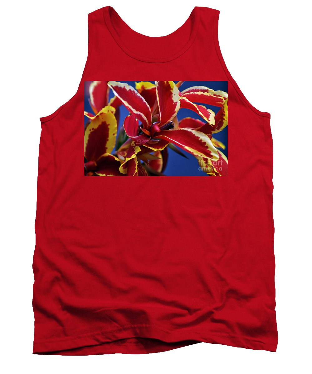 Clay Tank Top featuring the photograph Floral by Clayton Bruster