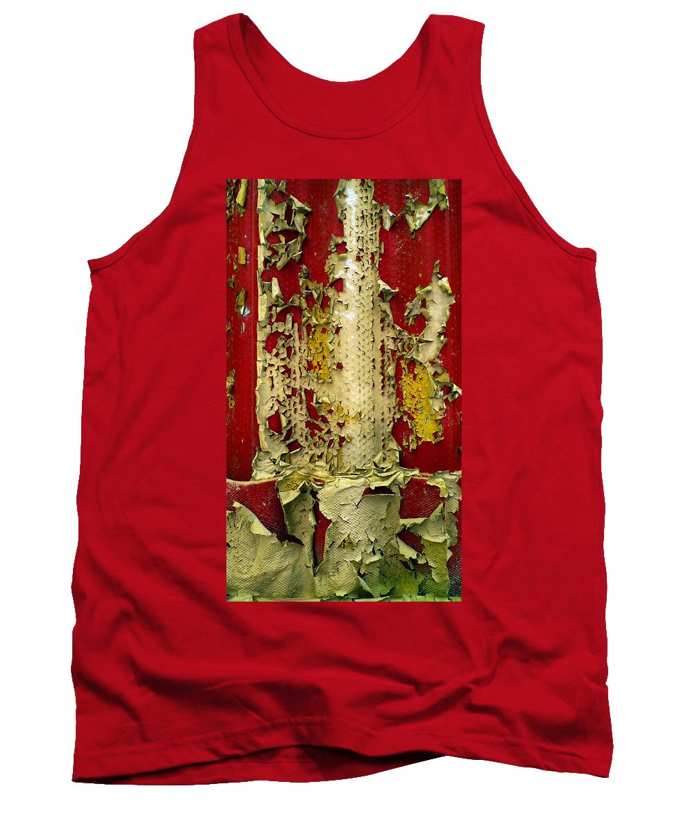 Abstract Tank Top featuring the photograph 377 At 41 Series 5 by Skip Hunt