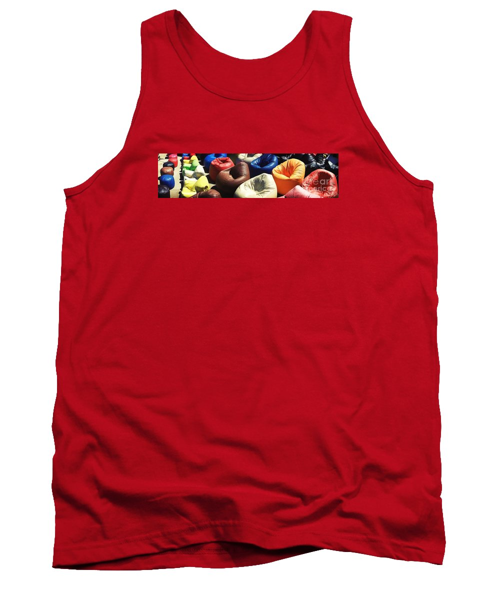 Bean Bags Tank Top featuring the photograph Msc by Caddelle Faulkner