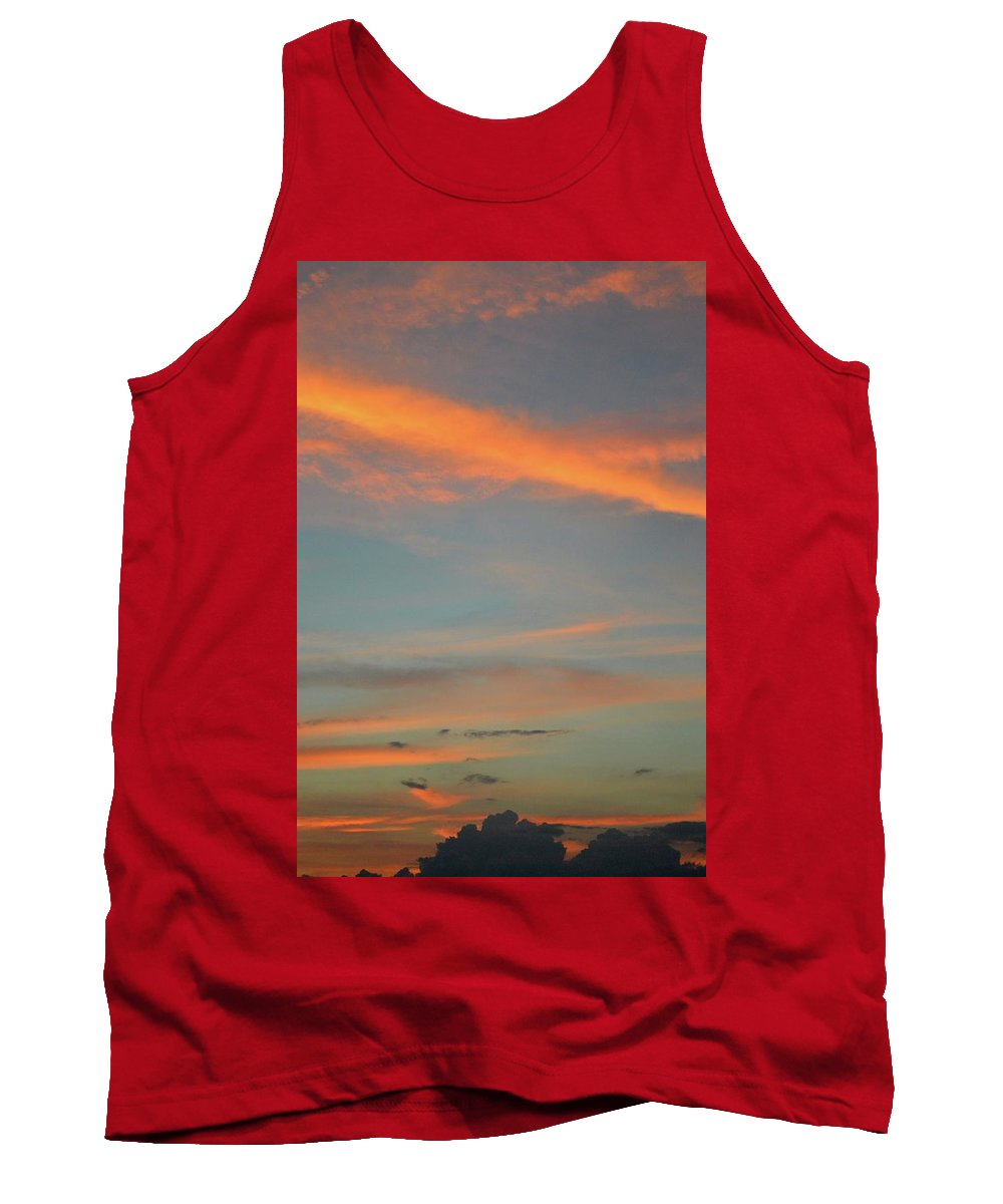 Abstract Tank Top featuring the photograph 9.17 Pm June 6-2016 by Lyle Crump