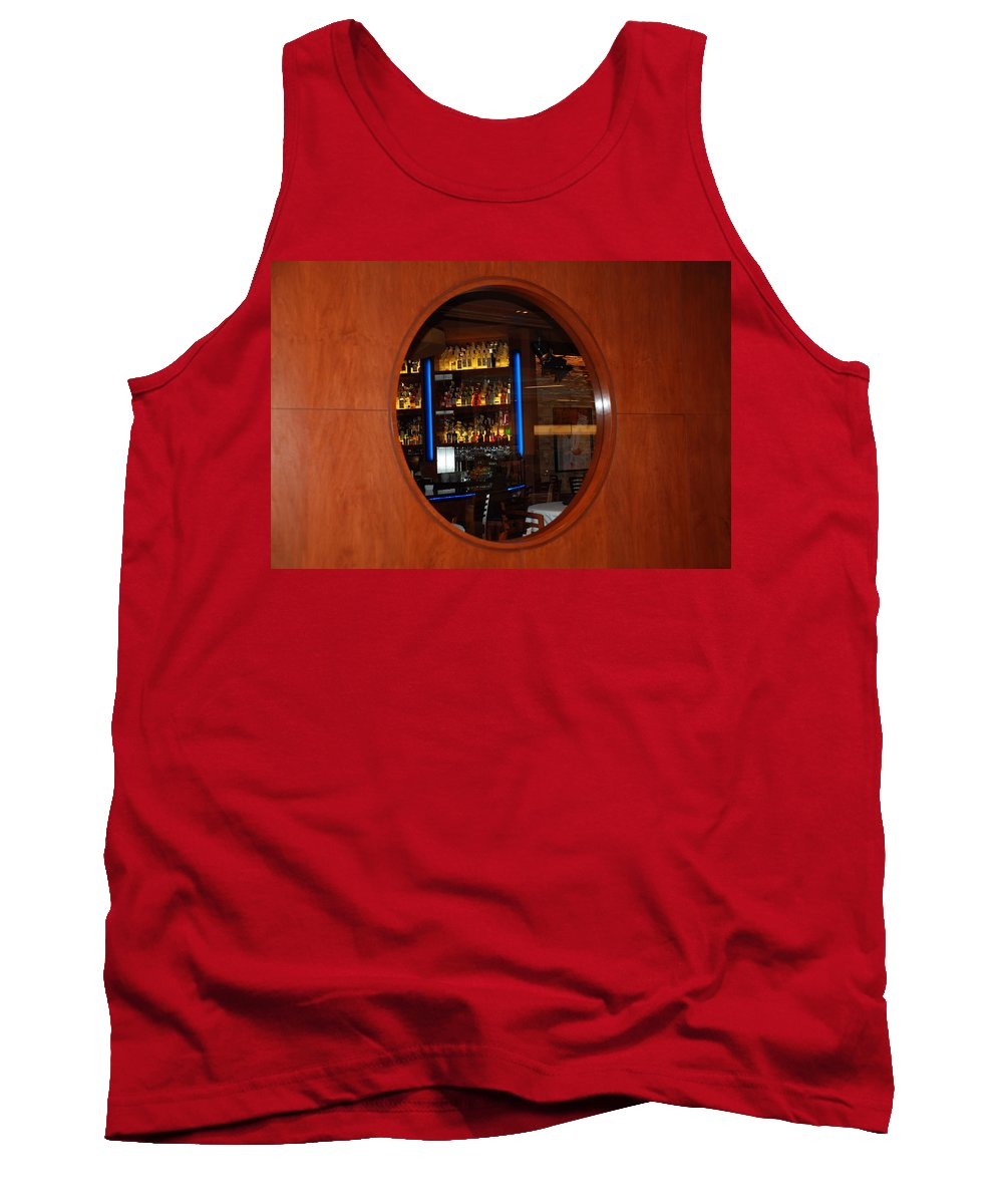 Architecture Tank Top featuring the photograph A Look Thru The Fishbowl by Rob Hans