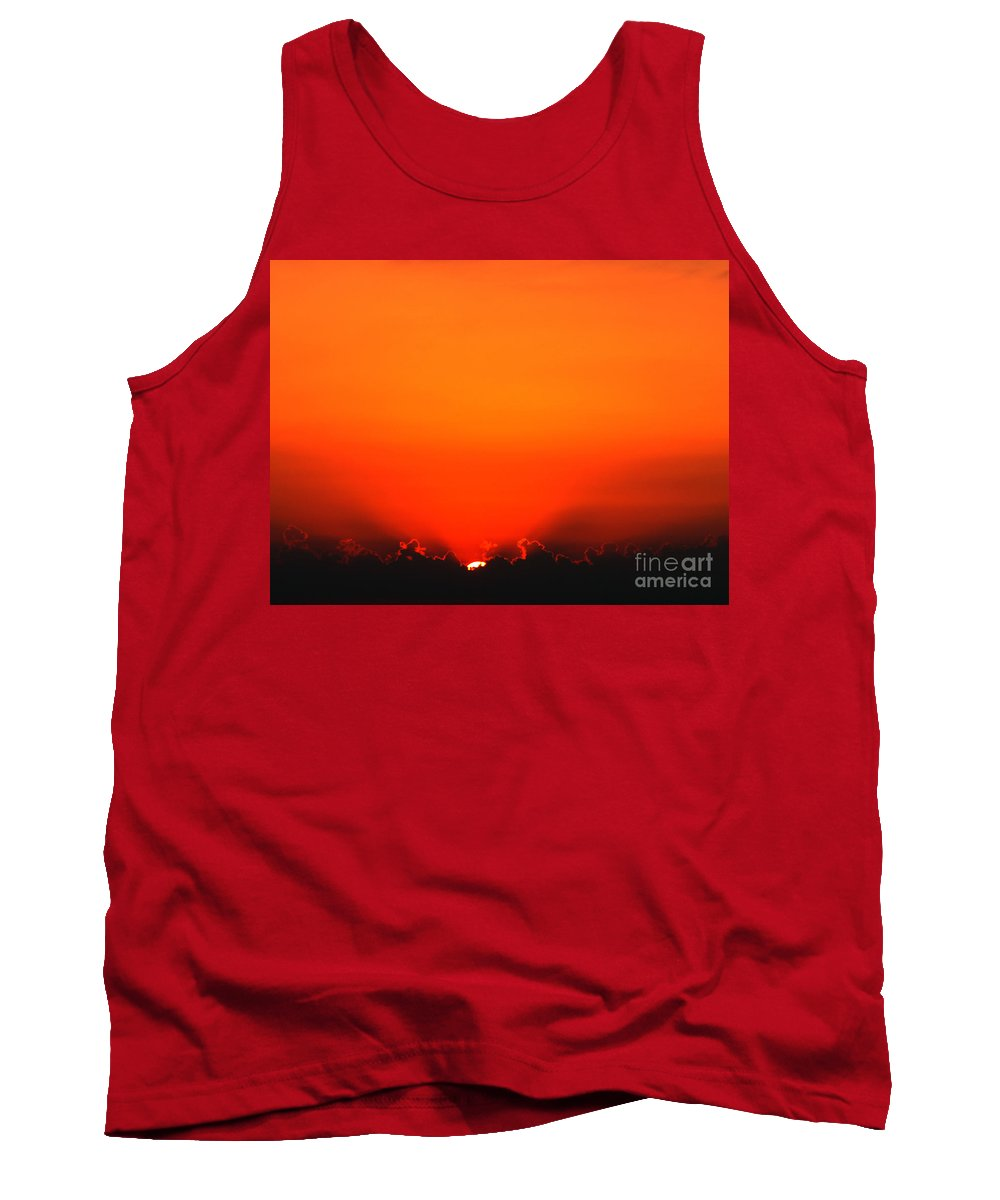 Sun Tank Top featuring the photograph A New Day by Amanda Barcon