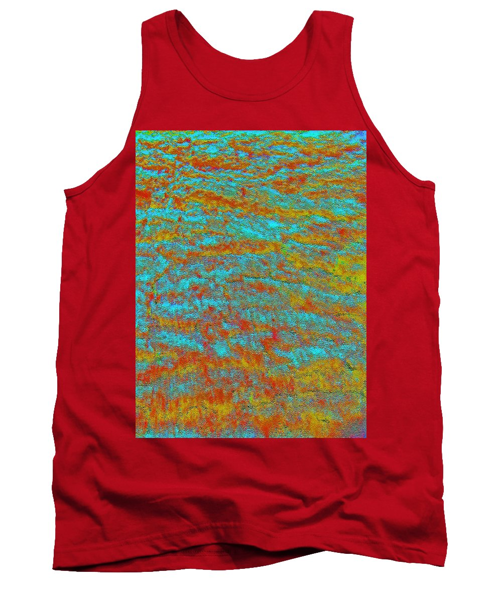 Abstract Tank Top featuring the photograph Abstract by Lenore Senior