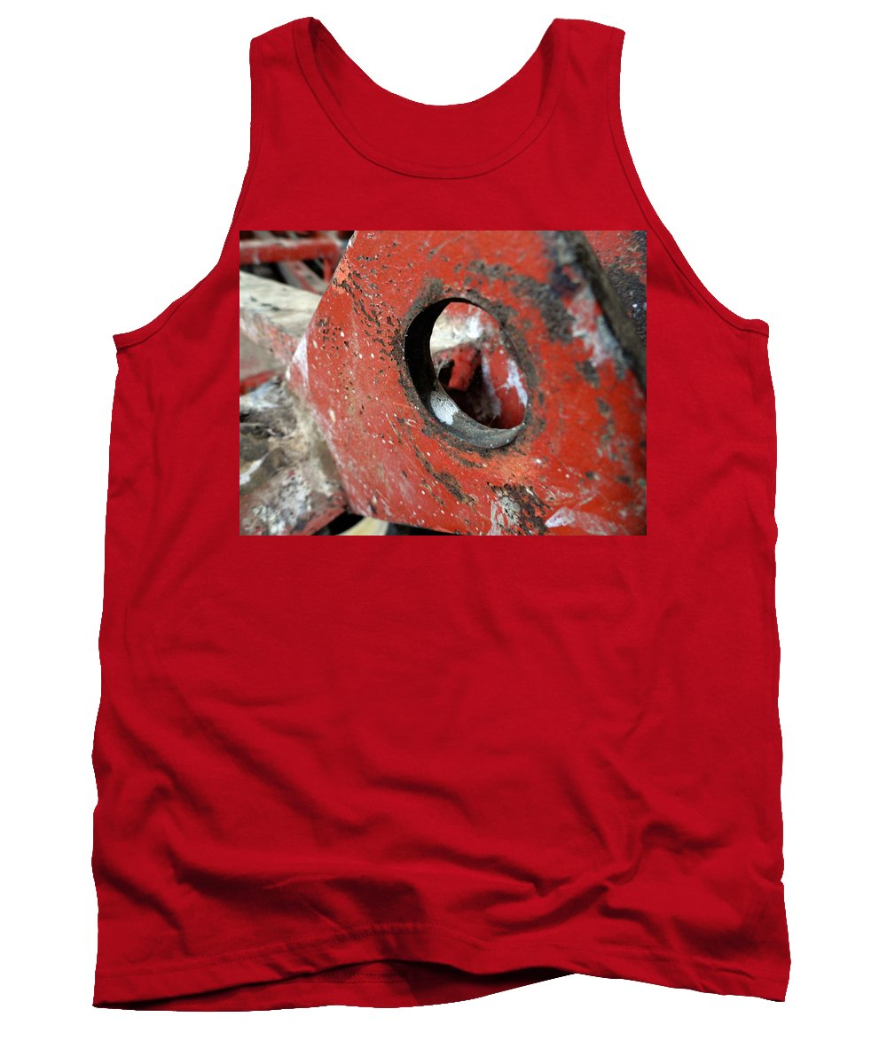 Textures Tank Top featuring the photograph Abstract Textures by Trish Hale