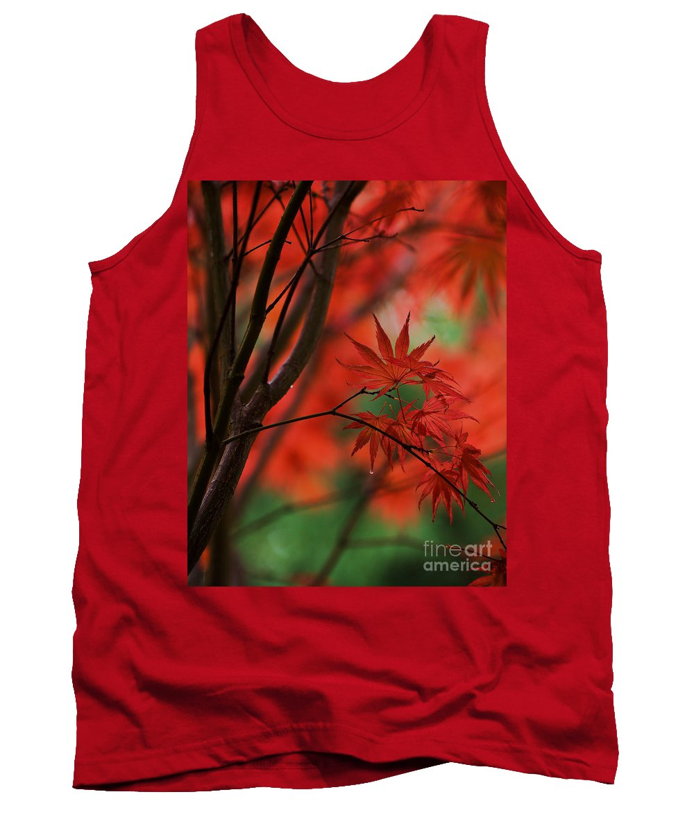 Acer Tank Top featuring the photograph Acer Fanfare by Mike Reid