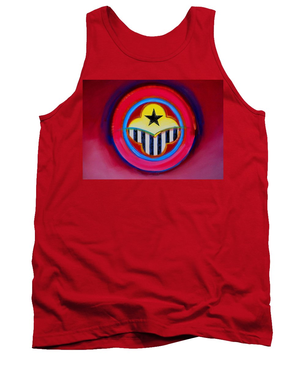Button Tank Top featuring the painting African American by Charles Stuart
