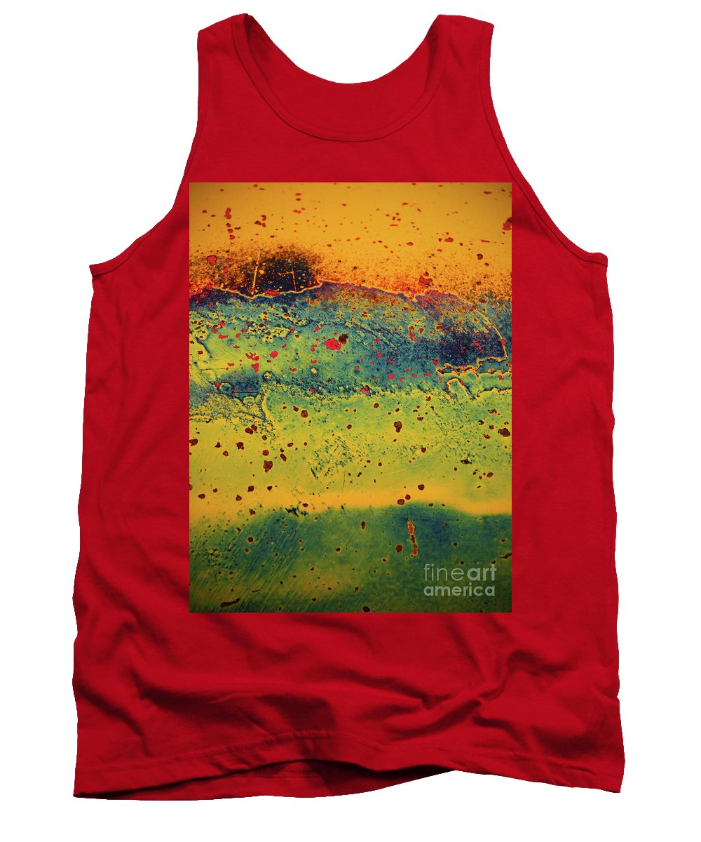 Urban Tank Top featuring the photograph Aging In Colour 2 by Tara Turner