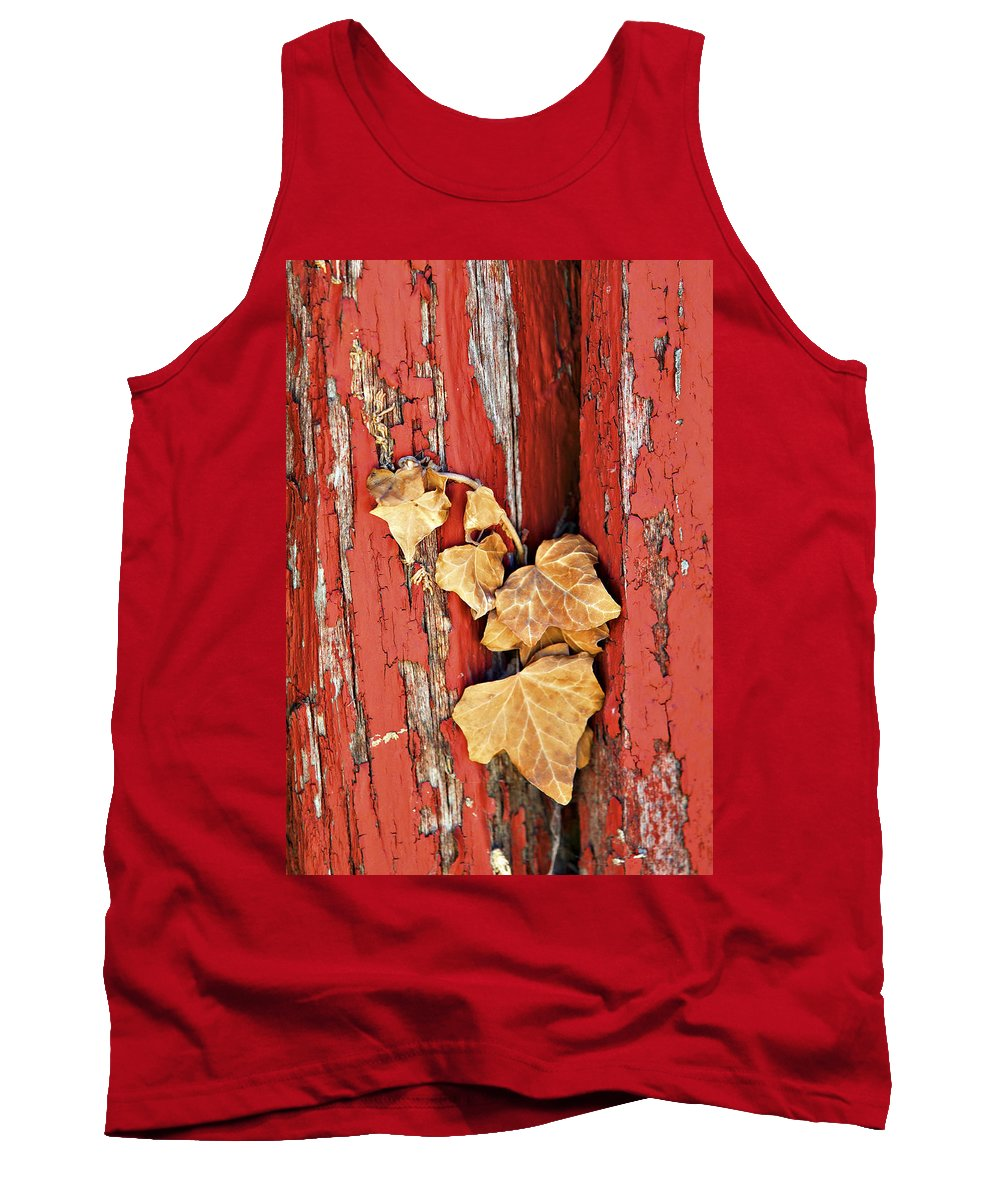 Barn Tank Top featuring the photograph Aging Together Barn by Marilyn Hunt