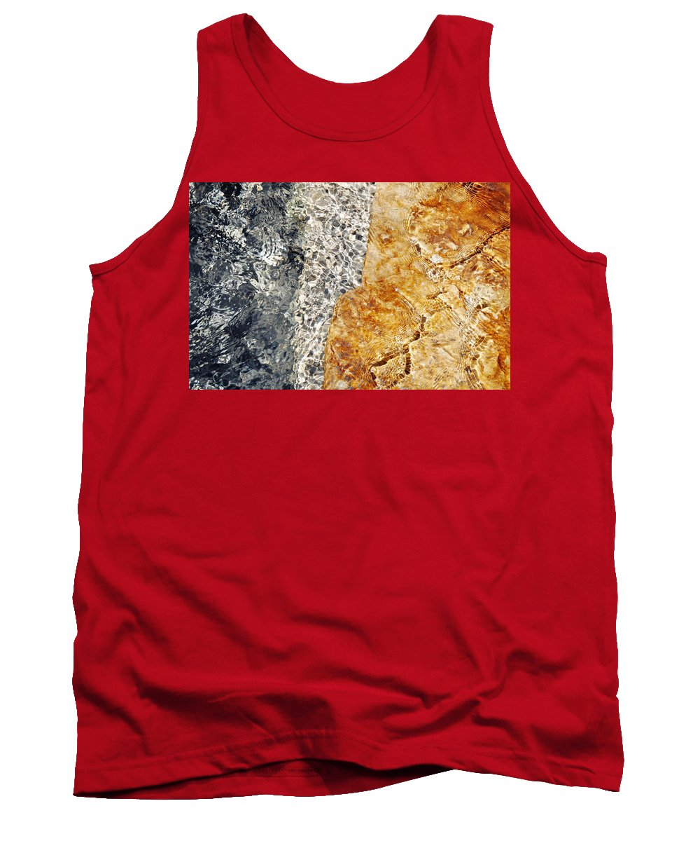 Alfred Caldwell Lily Pool Tank Top featuring the photograph Alfred Caldwell Lily Pool Springs 3 by Kyle Hanson