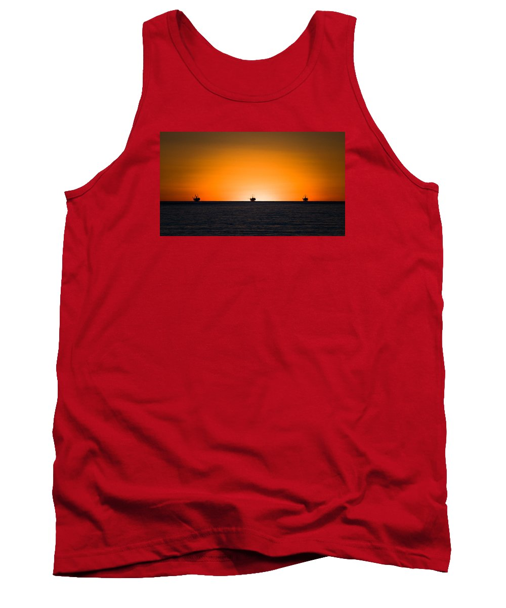 Oil Tank Top featuring the photograph Alien Casinos by Zach Brown