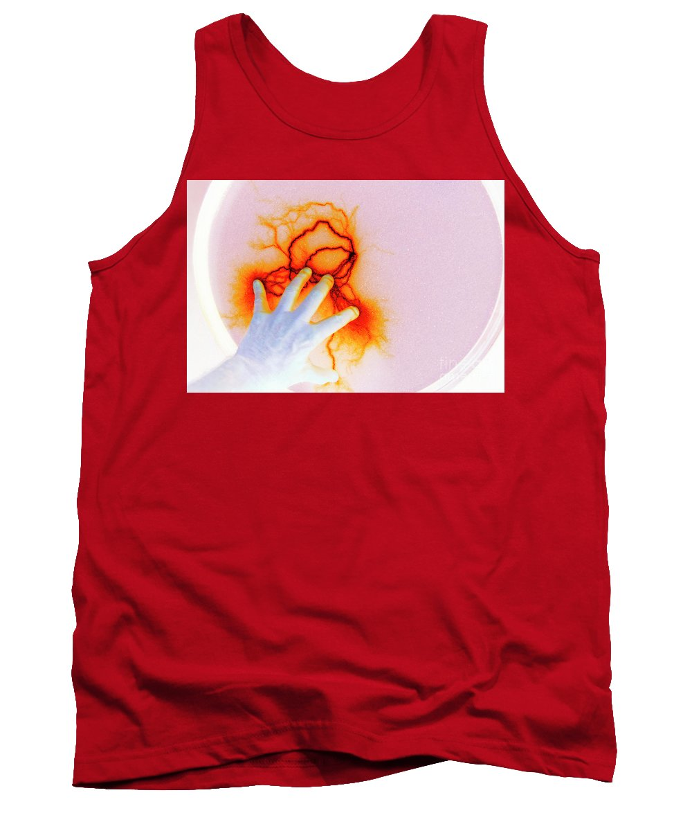 Static Tank Top featuring the photograph Alien Encounter Outside Looking In by Paul W Faust - Impressions of Light