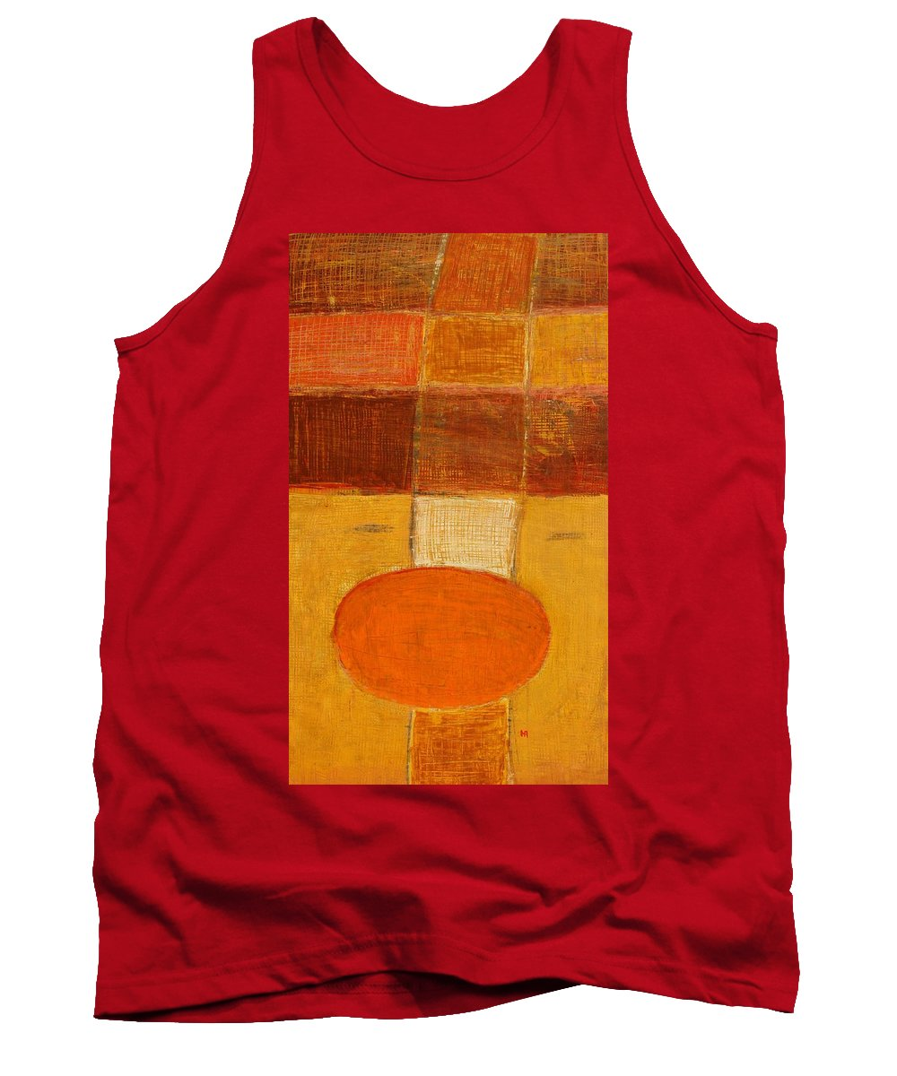 Abstract Tank Top featuring the painting All The Way by Habib Ayat