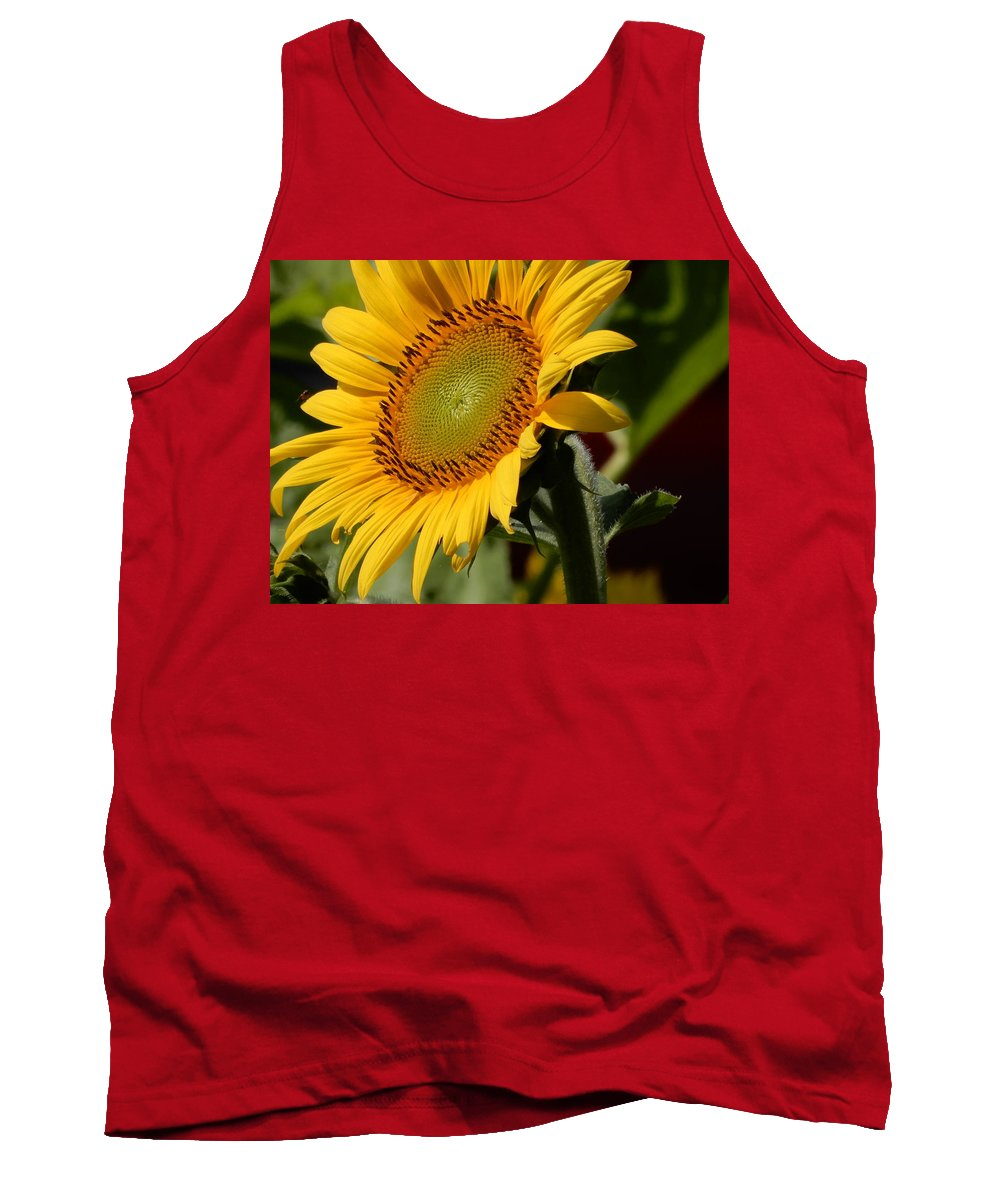 Mums Tank Top featuring the photograph Almost Perfect Yellow by Tina M Wenger