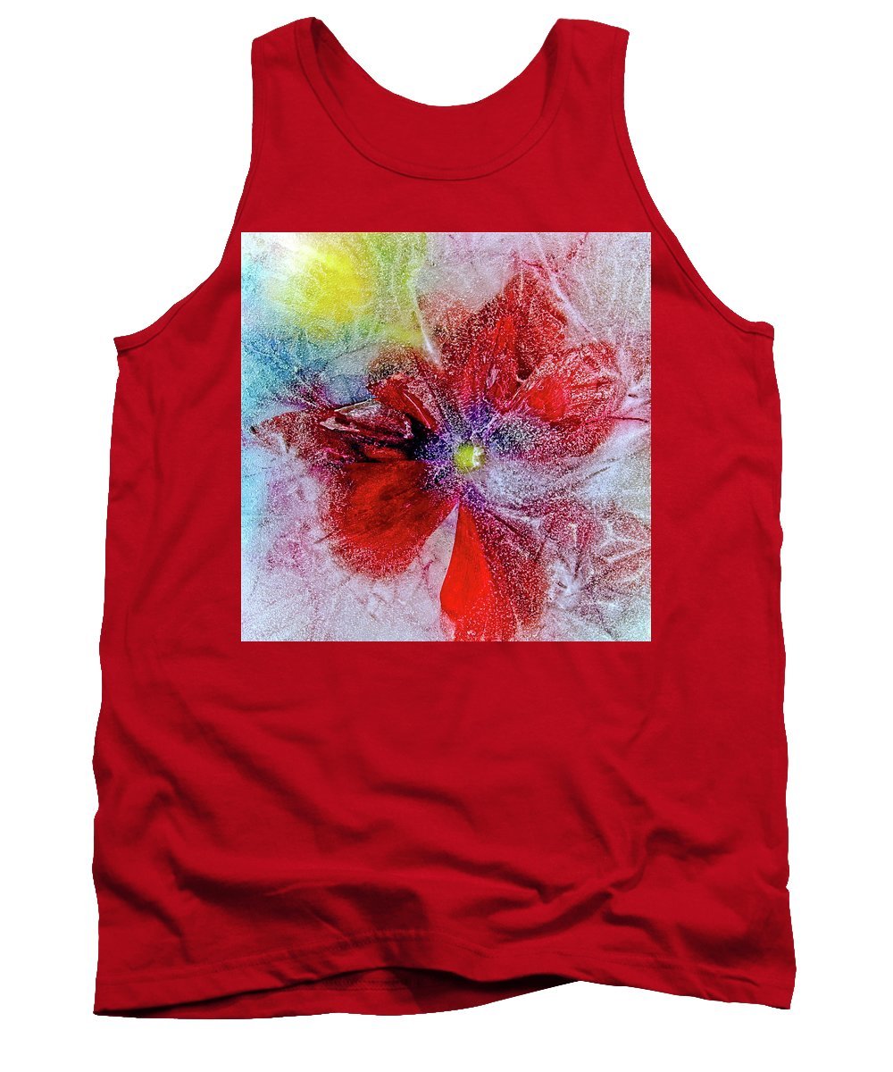 Ice Tank Top featuring the photograph Amaryllis by Jarmo Honkanen