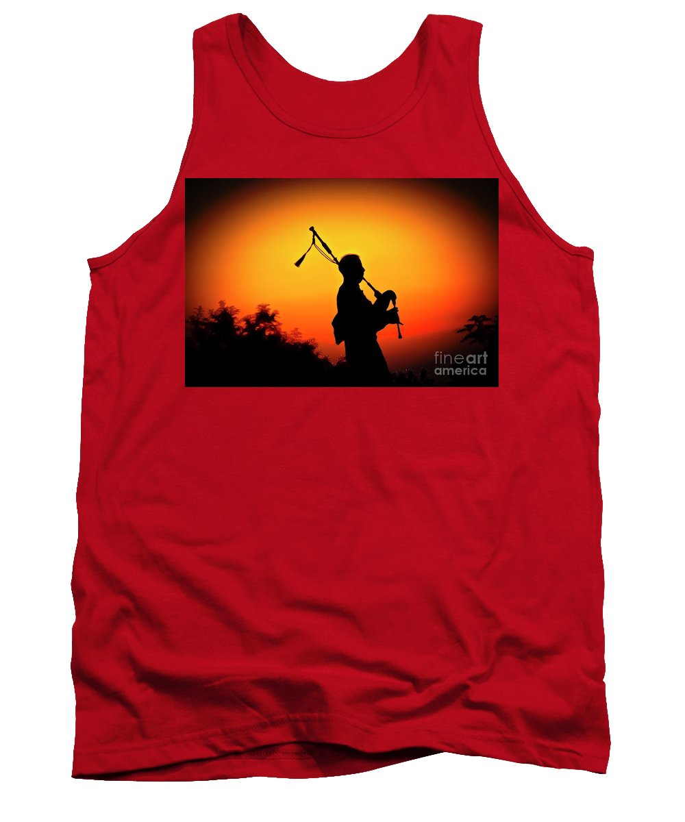 Sunset Tank Top featuring the photograph Amazing Grace by Jim Cazel